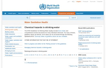 http://www.who.int/water_sanitation_health/dwq/chemicals/en/