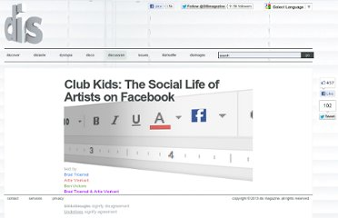 http://dismagazine.com/discussion/29786/club-kids-the-social-life-of-artists-on-facebook/