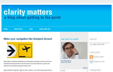 http://www.claritymatters.nl/2012/02/make-your-navigation-like-schiphol-airport/