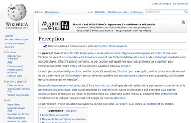 http://fr.wikipedia.org/wiki/Perception