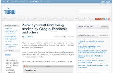 http://www.tuaw.com/2012/02/23/protect-yourself-from-being-tracked-by-google-facebook-and-oth/