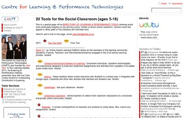 http://c4lpt.co.uk/directory-of-learning-performance-tools/tools-for-the-social-classroom-ages-5-18/