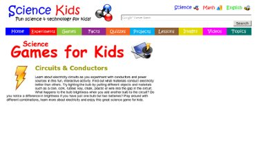 http://www.sciencekids.co.nz/gamesactivities/circuitsconductors.html