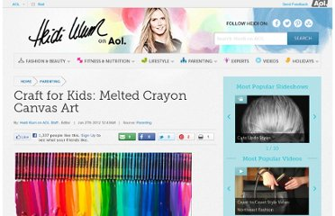http://heidiklum.aol.com/category/parenting/craft-for-kids-melted-crayon-canvas-art/
