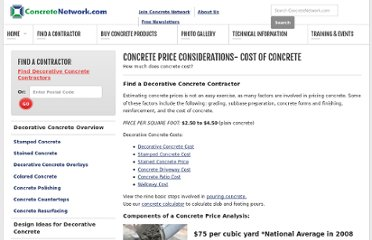 http://www.concretenetwork.com/concrete-prices.html