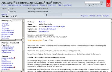 http://help.adobe.com/en_US/FlashPlatform/reference/actionscript/3/flash/net/Socket.html
