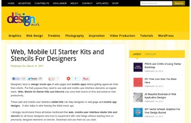 http://www.thedesignwork.com/web-mobile-ui-starter-kits-and-stencils-for-designers/