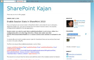 http://www.kajanmoorthy.com/2010/05/enable-session-state-in-sharepoint-2010.html
