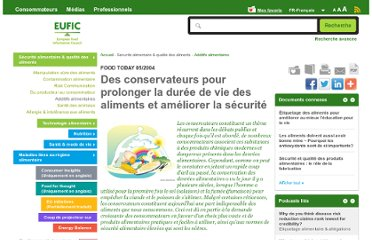 http://www.eufic.org/article/fr/Securite-alimentaire-qualite-aliments/additifs-alimentaires/artid/conservateurs-duree-vie-aliments-securite/