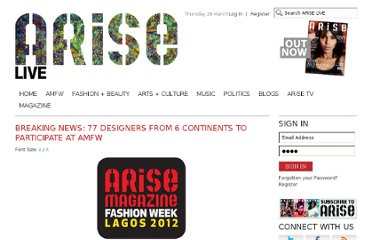 http://www.arisemagazine.net/articles/breaking-news-77-designers-from-6-continents-to-participate-at-amfw/109563/