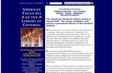 http://www.loc.gov/exhibits/treasures/