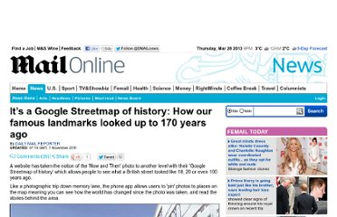 http://www.dailymail.co.uk/news/article-2058223/Website-Historypin-shows-streets-looked-170-years-ago.html