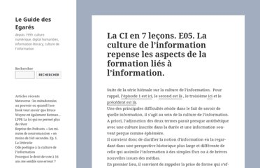 http://www.guidedesegares.info/2012/02/24/la-ci-en-7-lecons-e05-la-culture-de-linformation-repense-les-aspects-de-la-formation-lies-a-linformation/