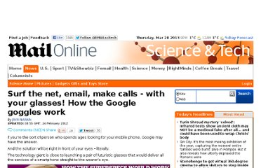 http://www.dailymail.co.uk/sciencetech/article-2105628/Google-glasses-Surf-net-email-make-calls--Google-goggles-work.html