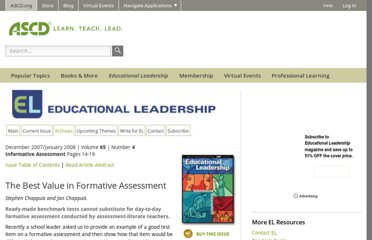 http://www.ascd.org/publications/educational-leadership/dec07/vol65/num04/The-Best-Value-in-Formative-Assessment.aspx