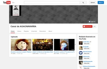 http://www.youtube.com/user/AGAONAVARRA