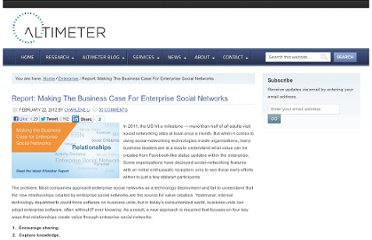 http://www.altimetergroup.com/2012/02/making-the-business-case-for-enterprise-social-networks.html