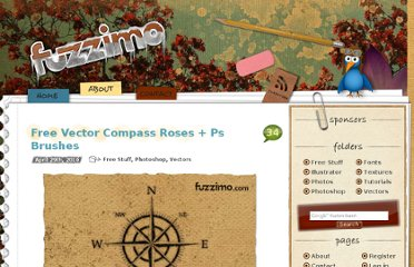 http://www.fuzzimo.com/free-vector-compass-roses-ps-brushes/
