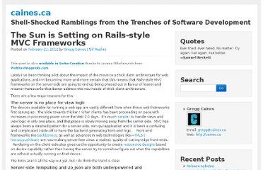 http://caines.ca/blog/programming/the-sun-is-setting-on-rails-style-mvc-frameworks/