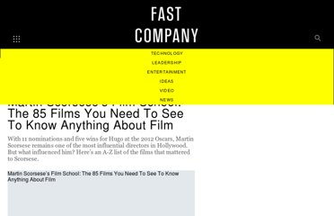 http://www.fastcocreate.com/1679472/martin-scorseses-film-school-the-85-films-you-need-to-see-to-know-anything-about-film