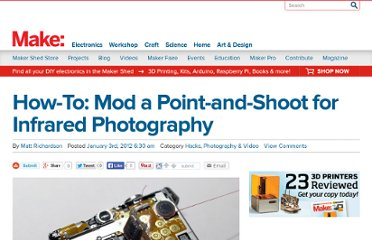 http://blog.makezine.com/2012/01/03/how-to-mod-a-point-and-shoot-for-infrared-photography/