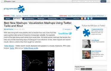 http://blog.programmableweb.com/2012/02/24/best-new-mashups-vizualization-mashups-using-twitter-twilio-and-klout/