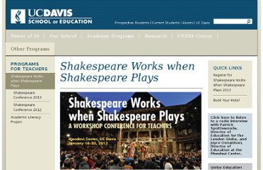 http://education.ucdavis.edu/shakespeare-works-when-shakespeare-plays
