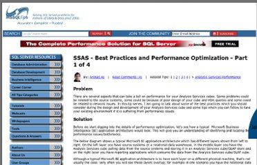 http://www.mssqltips.com/sqlservertip/2565/ssas--best-practices-and-performance-optimization--part-1-of-4/