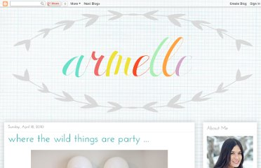 http://www.armelleblog.com/2010/04/where-wild-things-are-party.html