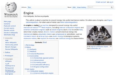 http://en.wikipedia.org/wiki/Engine