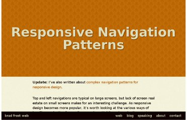 http://bradfrostweb.com/blog/web/responsive-nav-patterns/