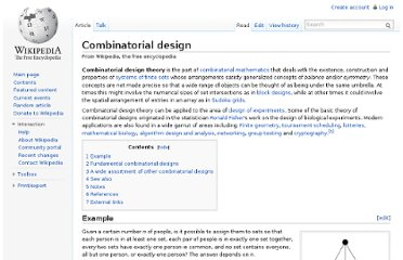 http://en.wikipedia.org/wiki/Combinatorial_design