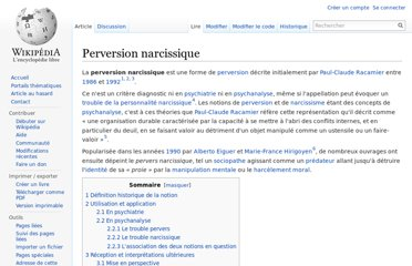 http://fr.wikipedia.org/wiki/Perversion_narcissique
