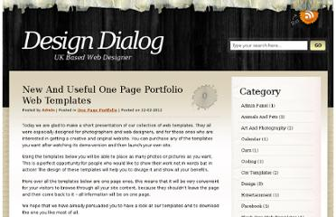 http://designawardsmania.com/2012/02/22/new-and-useful-one-page-portfolio-web-templates/