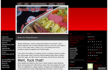 http://freakintastybento.wordpress.com/2007/08/19/bento-for-cheap-bastards/