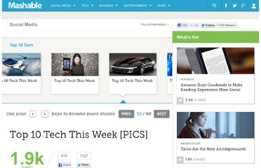 http://mashable.com/2012/02/25/top-10-tech-this-week-18/