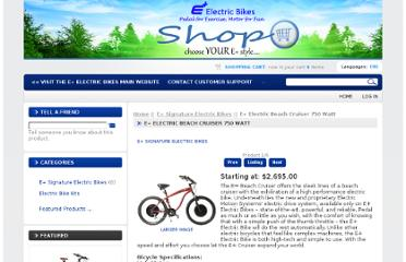 http://epluselectricbike.com/buy-bikes-online/signature-electric-bikes/e-electric-beach-cruiser-750-watt