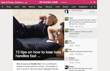 http://weightloss.allwomenstalk.com/tips-on-how-to-lose-love-handles-fast/
