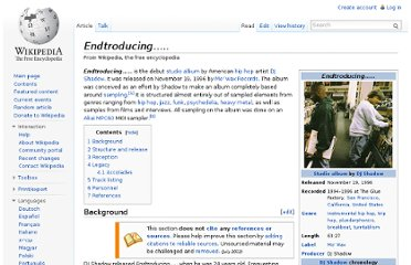 http://en.wikipedia.org/wiki/Endtroducing.....