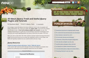 http://www.noupe.com/jquery/all-about-jquery-fresh-and-useful-jquery-plugins-and-tutorials.html