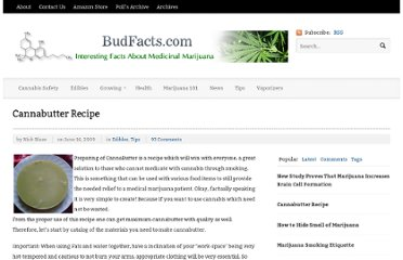 http://budfacts.com/75/cannabutter-recipe/