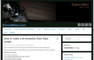 http://elainemiller.com/writing/sex-bdsm/2008/how-to-make-a-re-wearable-duct-tape-corset/