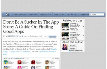 http://appadvice.com/appnn/2012/02/dont-be-a-sucker-in-the-app-store-a-guide-on-finding-good-apps
