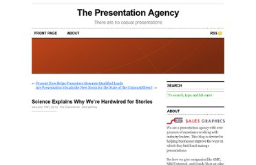 http://www.presentationagency.com/storytelling/science-explains-why-were-hardwired-for-stories/