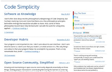 http://www.codesimplicity.com/post/category/essays/