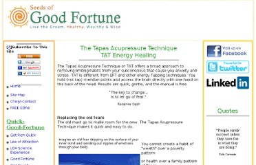 http://www.quick-good-fortune.com/Tapas-Acupressure-Technique-TAT.html