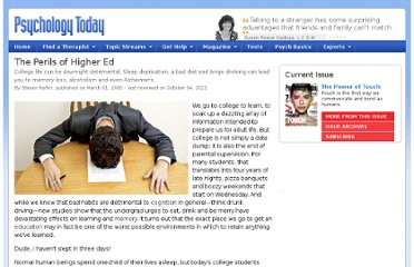 http://www.psychologytoday.com/articles/200503/the-perils-higher-ed