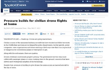 http://news.yahoo.com/pressure-builds-civilian-drone-flights-home-150120049.html