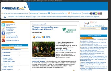 http://cdurable.info/Voyager-responsable-avec-Rainforest-Alliance.html