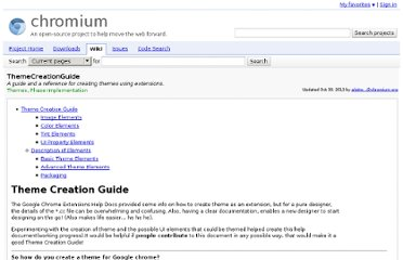 http://code.google.com/p/chromium/wiki/ThemeCreationGuide